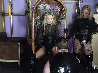 Dirty Fucking Sluts - Rough Pegging from British Dominas